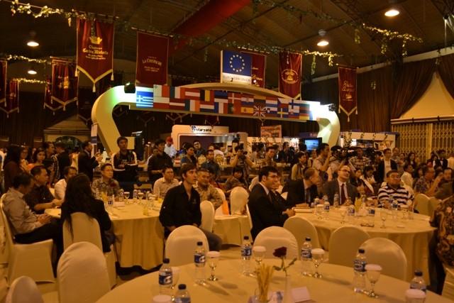 EIBN at Wine & Cheese Expo Jakarta 2014: the European Pavilion