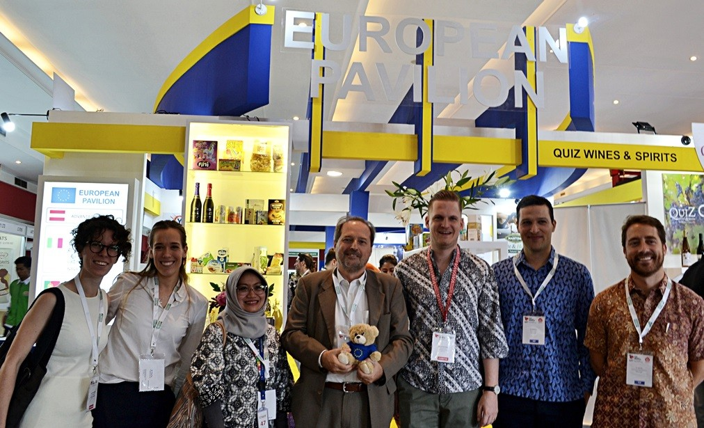 European Pavilion at Food & Hotel Indonesia (FHI) 2019