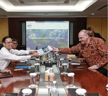 EIBN Official Meeting with Thomas Lembong and BKPM